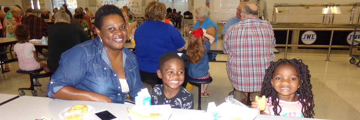 PreK Grandparent's Day Breakfast at JWE