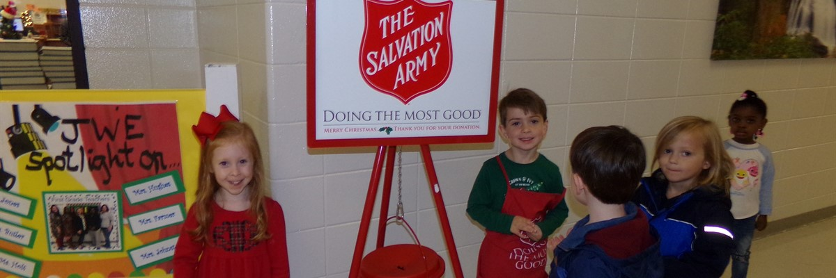 JWE Salvation Army Bell Ringers- December 2019