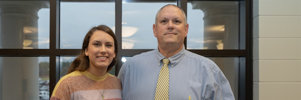 Congratulations to Bainbridge High's 2020 Star Student, Hannah Sprenkle, and her selected Star Teacher, Mr. Jodie Sprenkle.