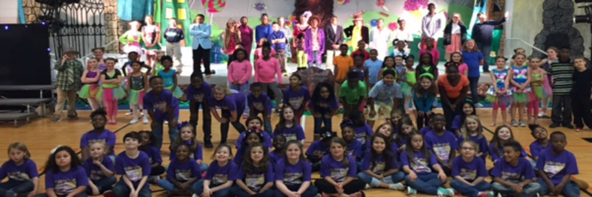 The Cast and Crew of Willy Wonka!