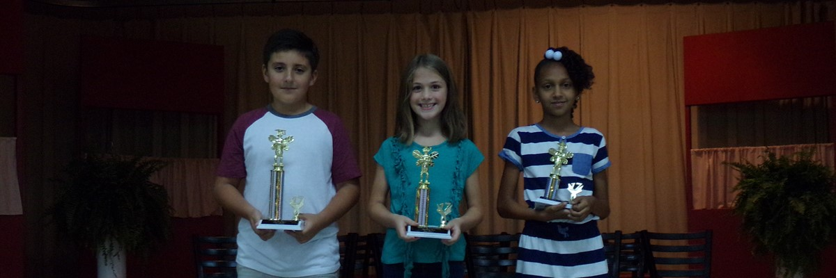 Spelling Bee Winners November 9, 2017