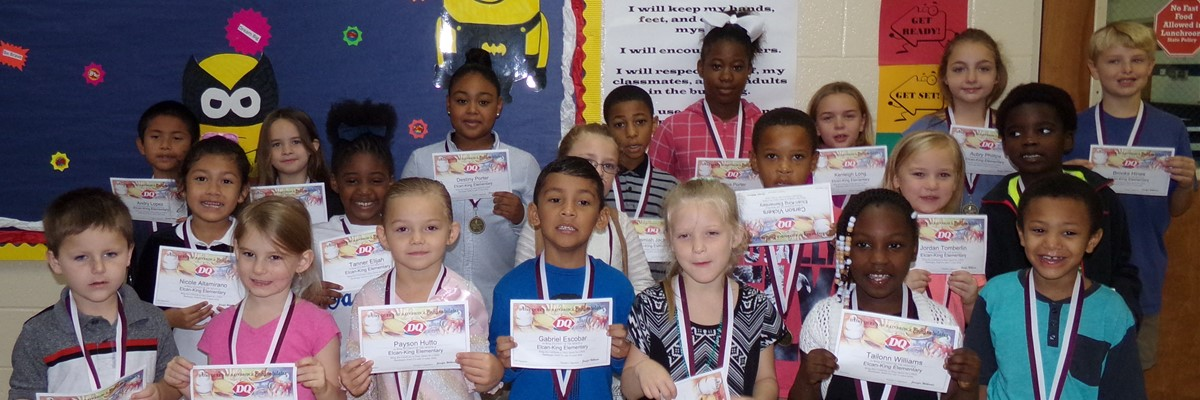"""Superhero"" Students of the Month- November 2017"